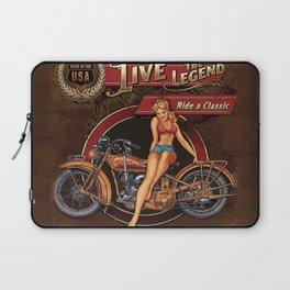Live the Legend Laptop Sleeve