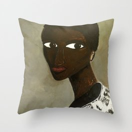 Hope and Fear Held Back Throw Pillow