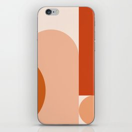 abstract minimal #8 iPhone Skin