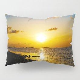 Seashore Serenity at Sunset Pillow Sham