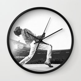 FreddieMercury Wembley Wall Clock