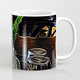 The Leaning Flower of Pisa Coffee Mug