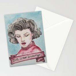 isn't it too dreamy audrey horne Stationery Cards