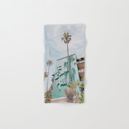 beverly hills / los angeles, california Hand & Bath Towel