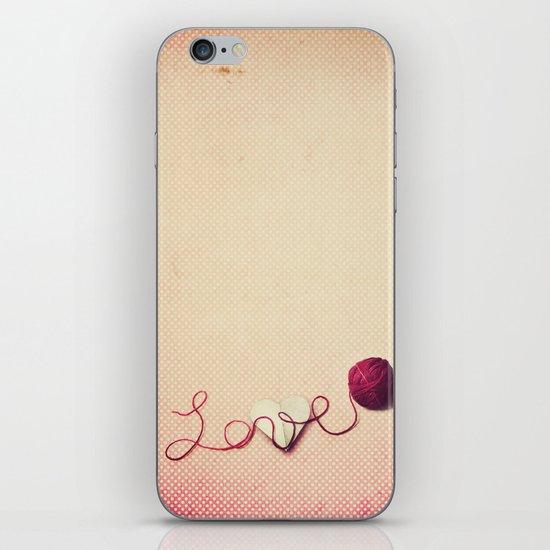 Love Heart iPhone & iPod Skin