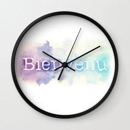 Bienvenu Wall Clock