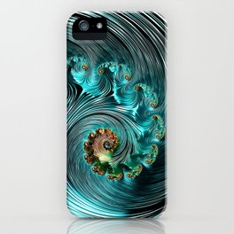 Aqua Supreme iPhone Case