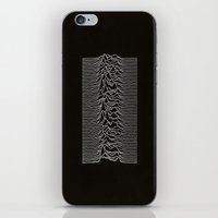 joy division iPhone & iPod Skins featuring Joy Division by TheSiro