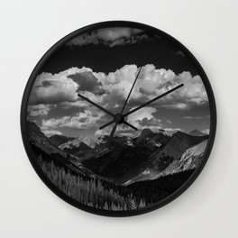 Galatea Lake Valley Wall Clock