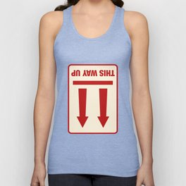 This Way Up Unisex Tank Top
