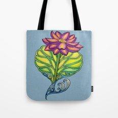 Lotus in Love Tote Bag
