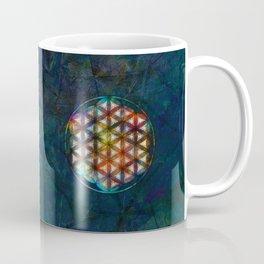 The Flower of Life Symbol Coffee Mug