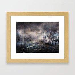 Dracula's Castle Framed Art Print