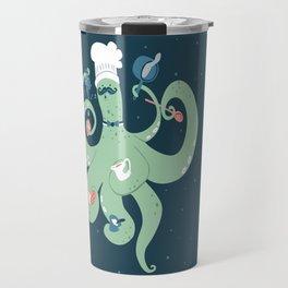 The Octopus Chef Travel Mug