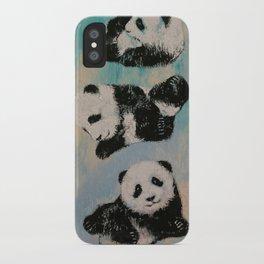 Panda Karate iPhone Case