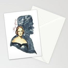 Mary Shelley portrait Stationery Cards