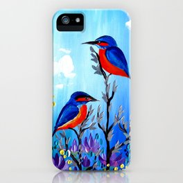 I Love Being With You iPhone Case