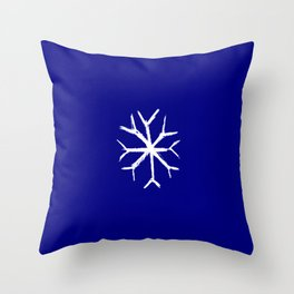 snowflake 4 Throw Pillow