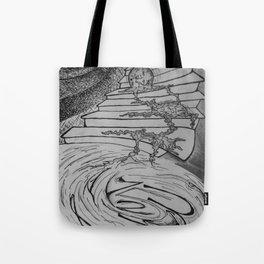 Molten Hour Tote Bag