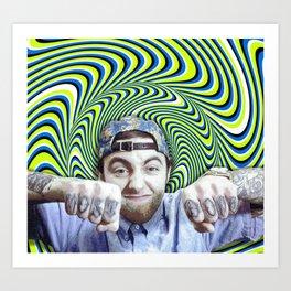 Most Dope Mac Miller Art Print