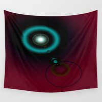 twilight Wall Tapestries featuring Twilight... by Cherie DeBevoise