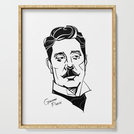 Giacomo Puccini Serving Tray