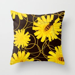 Wasps Throw Pillow