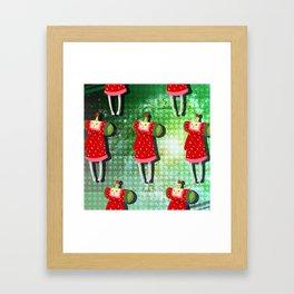 Katamari Cousins - Ichigo Framed Art Print