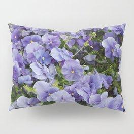 Pansy flower Pillow Sham