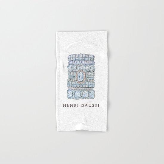 Henri Daussi Hand & Bath Towel