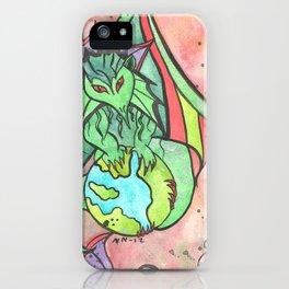 Earth Keeper Dragon iPhone Case