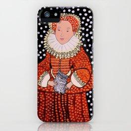Queen Elizabeth 1 iPhone Case