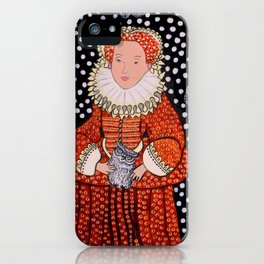 Queen Elizabeth 1 iPhone Case