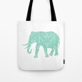 Mandala Elephant 6-22 Tote Bag