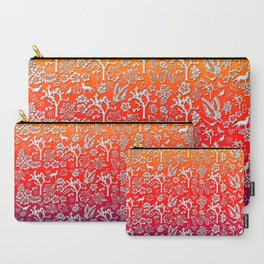Rainbow White Joshua Tree by CREYES Carry-All Pouch