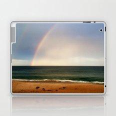 Beach Rainbow Laptop & iPad Skin
