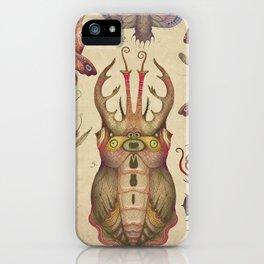 Cephalopodoptera Tab. II iPhone Case