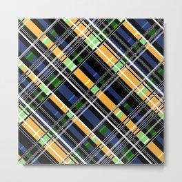 Striped pattern Metal Print
