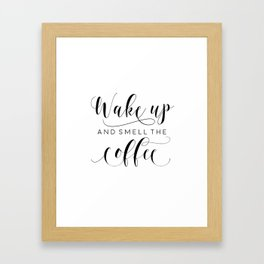 PRINTABLE Art,COFFEE BAR,Coffee Sign,Coffee Sign,Coffee Decor,But First Coffee,Kitchen Decor Framed Art Print