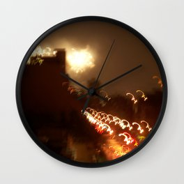 Electric 2 Wall Clock