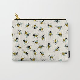 Dancing bee pyjama pattern Carry-All Pouch