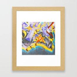 M is for ME Framed Art Print