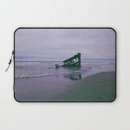 Shipwreck at Fort Stevens state park Oregon Laptop Sleeve