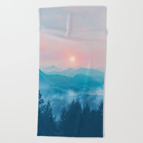Pastel vibes 12 Beach Towel