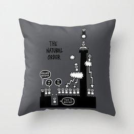 The Natural Order Throw Pillow