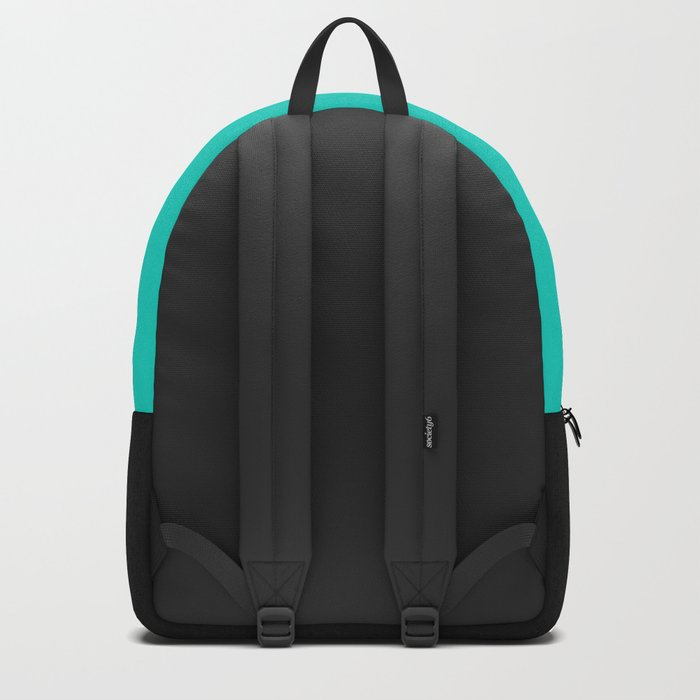 Aqua & Stripes Backpack