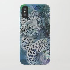Leopard Abstract iPhone X Slim Case
