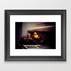 ROSE DUCK Framed Art Print
