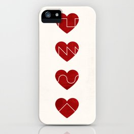 Love Synth iPhone Case