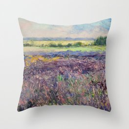 Provence Lavender Throw Pillow